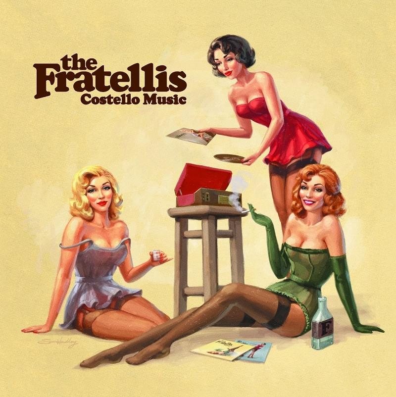 FRATELLIS - COSTELLO MUSIC  VINYL LP NEU